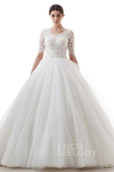 a7bed9ce2b442 袖付きドレス一覧|ウエディングドレスを格安で探すならCOCOMELODY